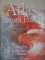 Okładka książki Atlas historii Polski mapy i komentarze
