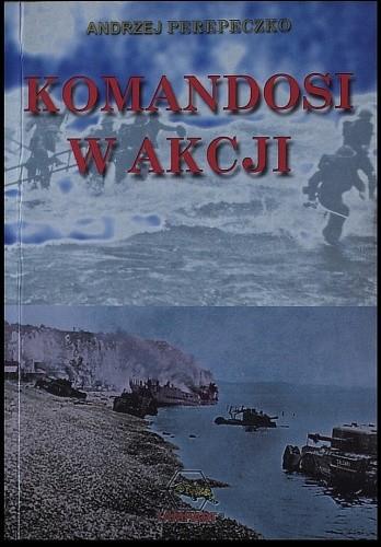 Okładka książki Komandosi w akcji