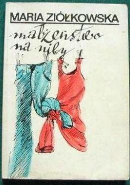 Okładka książki Małżeństwo na niby