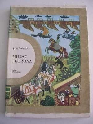 Okładka książki Miłość i korona
