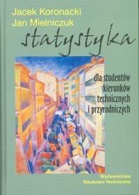 Okładka książki Statystyka dla studentów kierunków technicznych i przyrodniczych