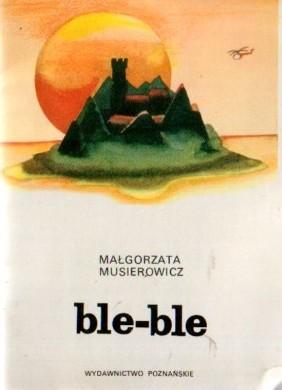 Okładka książki ble-ble