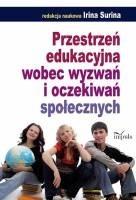 Okładka książki Przestrzeń edukacyjna wobec wyzwań i oczekiwań społecznych
