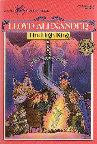 Okładka książki The High King