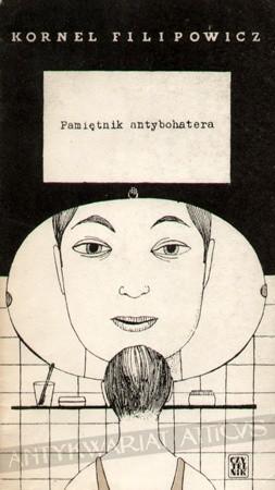 Okładka książki Pamiętnik antybohatera