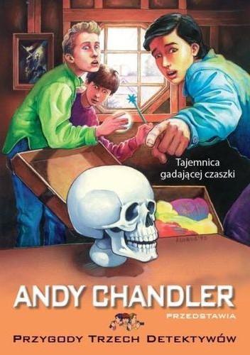 Okładka książki Tajemnica gadającej czaszki