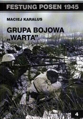 Okładka książki Grupa Bojowa 'Warta'
