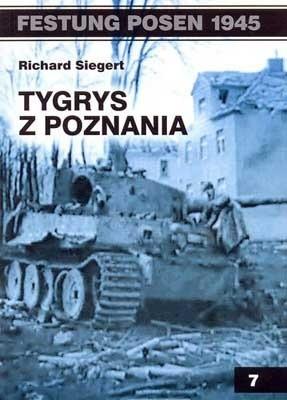 Okładka książki Tygrys z Poznania