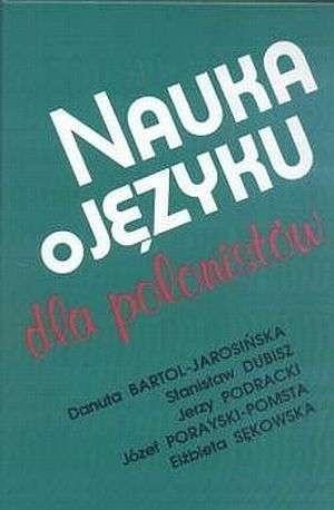 Okładka książki Nauka o języku dla polonistów