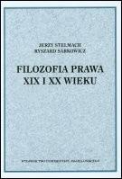 Okładka książki Filozofia prawa XIX i XX wieku
