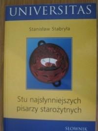 Okładka książki Słownik stu najsłynniejszych pisarzy starożytnych