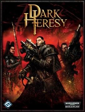 Okładka książki Dark Heresy Core Rulebook