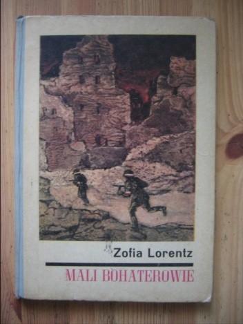 Okładka książki Mali bohaterowie