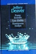 Okładka książki Puste krzesło ; Łzy diabła ; Kamienna małpa