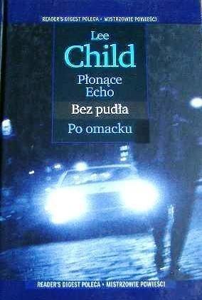 Okładka książki Płonące Echo ; Bez pudła ; Po omacku