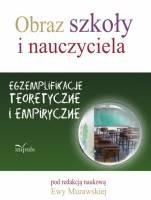 Okładka książki Obraz szkoły i nauczyciela