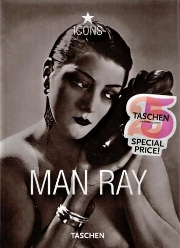 Okładka książki Man Ray 1890-1976