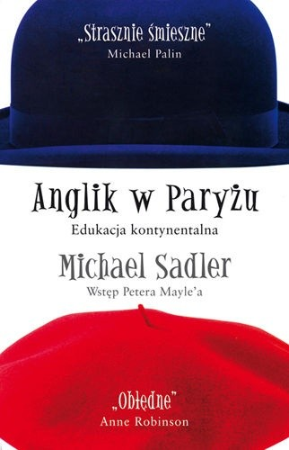 Okładka książki Anglik w Paryżu