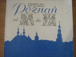 Okładka książki Poznań od A do Z