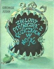 Okładka książki Zielony prosiaczek z guziczkiem w nosku