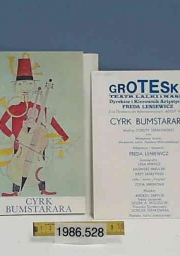Okładka książki Cyrk Bumstarara