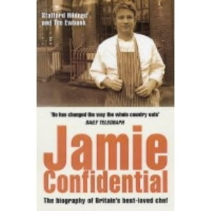 Okładka książki Jamie Confidential: The Biography of Britain's Best-Loved Chef
