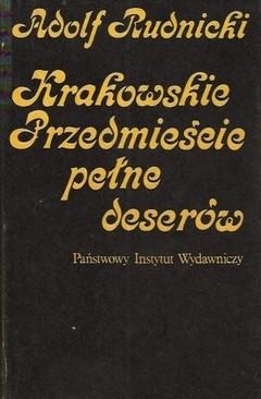 Okładka książki Krakowskie Przedmieście pełne deserów
