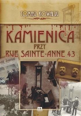 Okładka książki Kamienica przy Rue Sainte-Anne 43