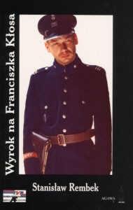 Okładka książki Wyrok na Franciszka Kłosa