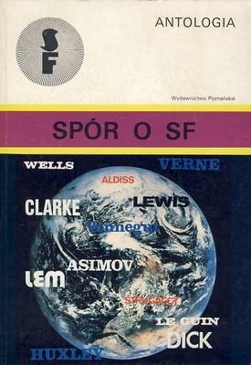 Okładka książki Spór o SF