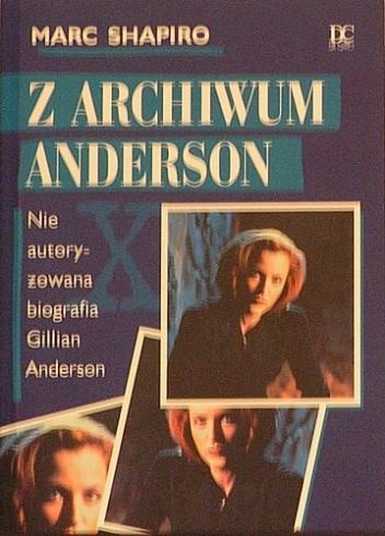 Okładka książki Z archiwum Anderson