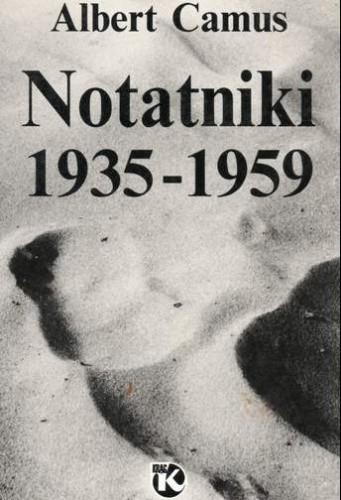 Okładka książki Notatniki 1935-1959