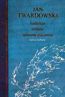 Okładka książki Nadzieja, miłość, spisane pacierze