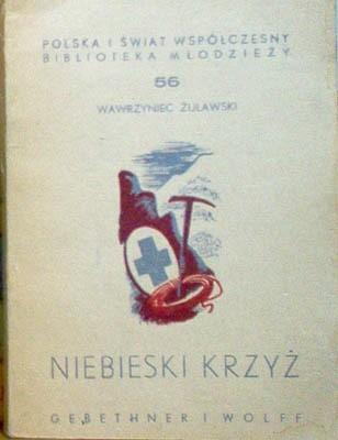 Okładka książki Niebieski krzyż
