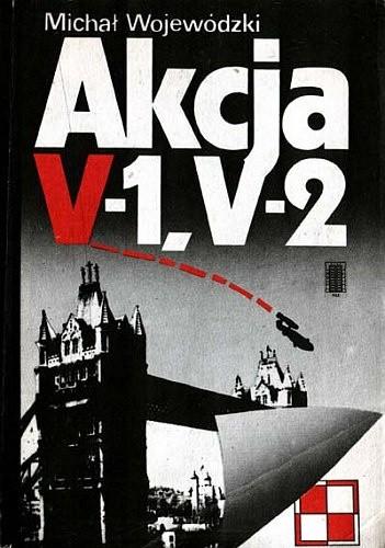 Okładka książki Akcja V-1, V-2