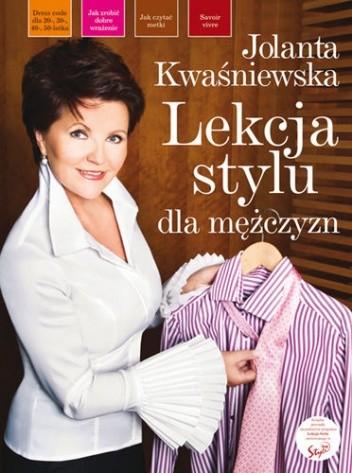 Okładka książki Lekcja stylu dla mężczyzn