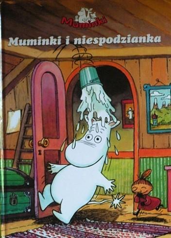 Okładka książki Muminki i niespodzianka