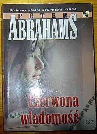 Okładka książki Czerwona wiadomość