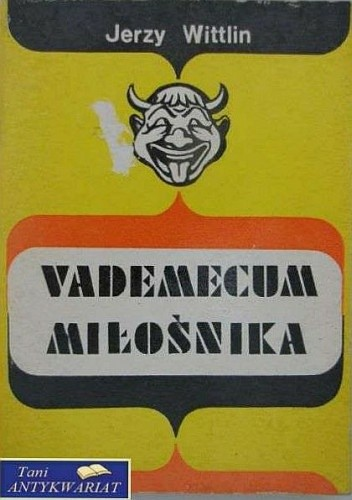 Okładka książki Vademecum miłośnika