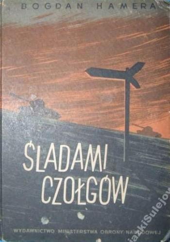 Okładka książki Śladami czołgów