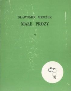 Okładka książki Małe prozy