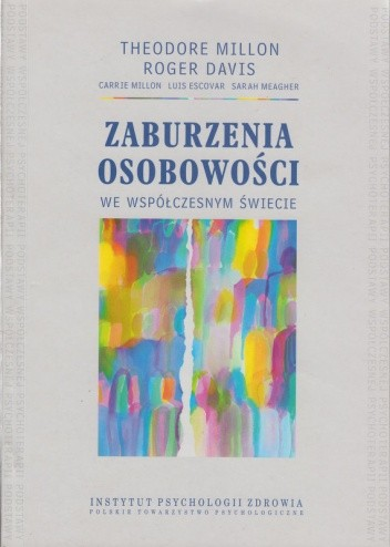 Okładka książki Zaburzenia osobowości we współczesnym świecie