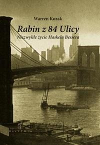 Okładka książki Rabin z 84 ulicy