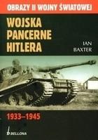 Okładka książki Wojska pancerne Hitlera 1933-1945