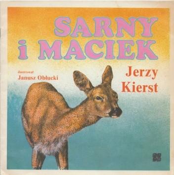 Okładka książki Sarny i Maciek