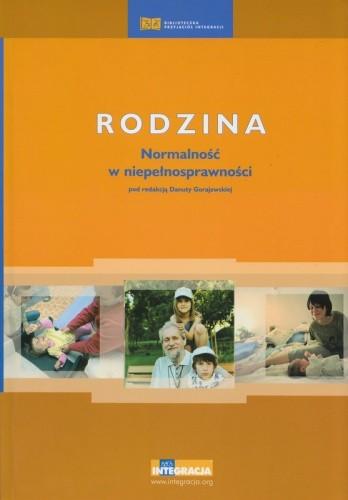 Okładka książki Rodzina. Normalność w niepełnosprawności