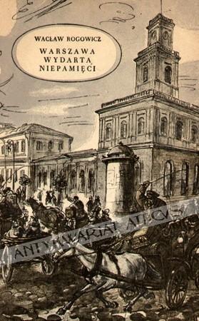 Okładka książki Warszawa wydarta niepamięci