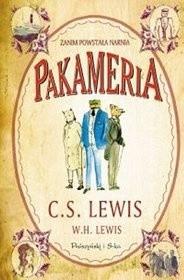 Okładka książki Pakameria. Zanim powstała Narnia