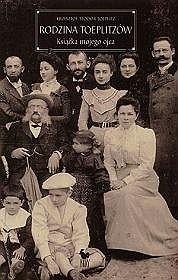 Okładka książki Rodzina Toeplitzów.Książka mojego ojca