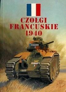 Okładka książki Czołgi francuskie 1940